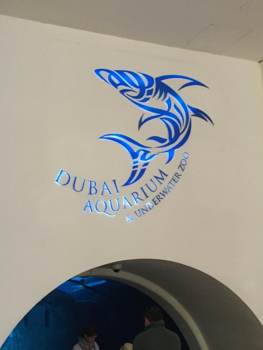 Dubai Aquarium Entrance