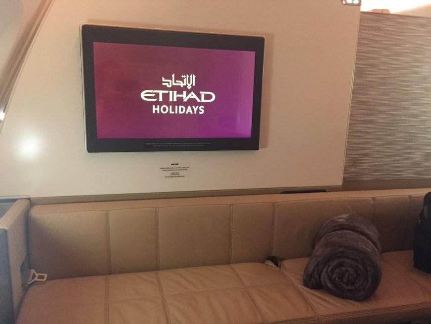 In Flight Entertainment Screen