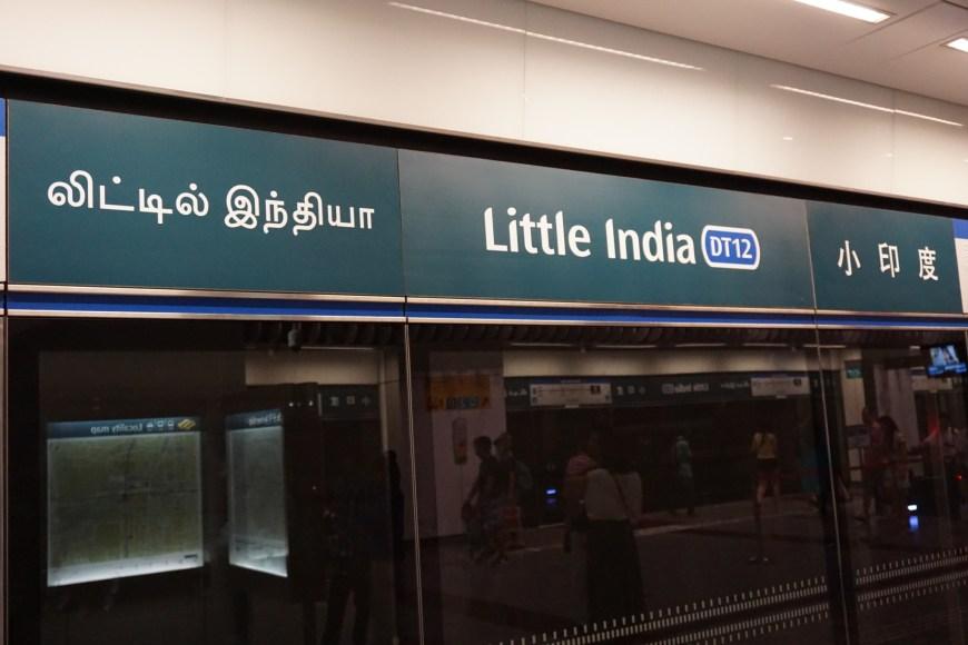 Little India MRT station