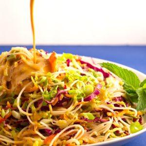 Salad Roll Salad   https://passtheplants.com
