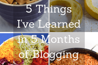 5 Things I've Learned in 5 Months of Blogging | https://passtheplants.com | #blogging
