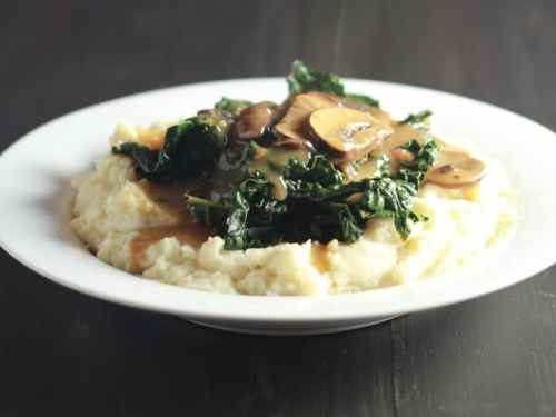 Protein Packed Mashed Potatoes Gravy