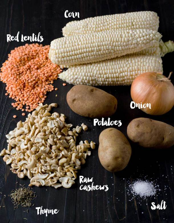 Vegan Corn Chowder | https://passtheplants.com