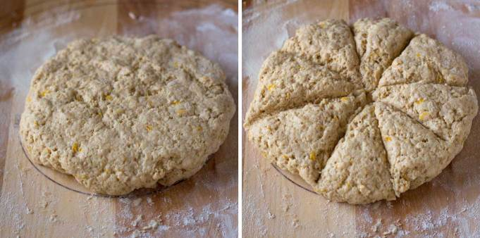 This Meyer Lemon Scones recipe is vegan, soy-free, and oil-free! | https://passtheplants.com