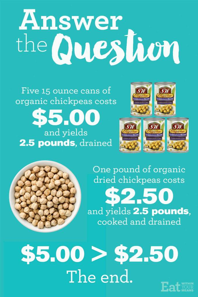 How to Cook Chickpeas in an Instant Pot and Save Money | https://passtheplants.com