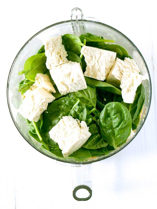 Vegan Spinach Ricotta | https://passtheplants.com