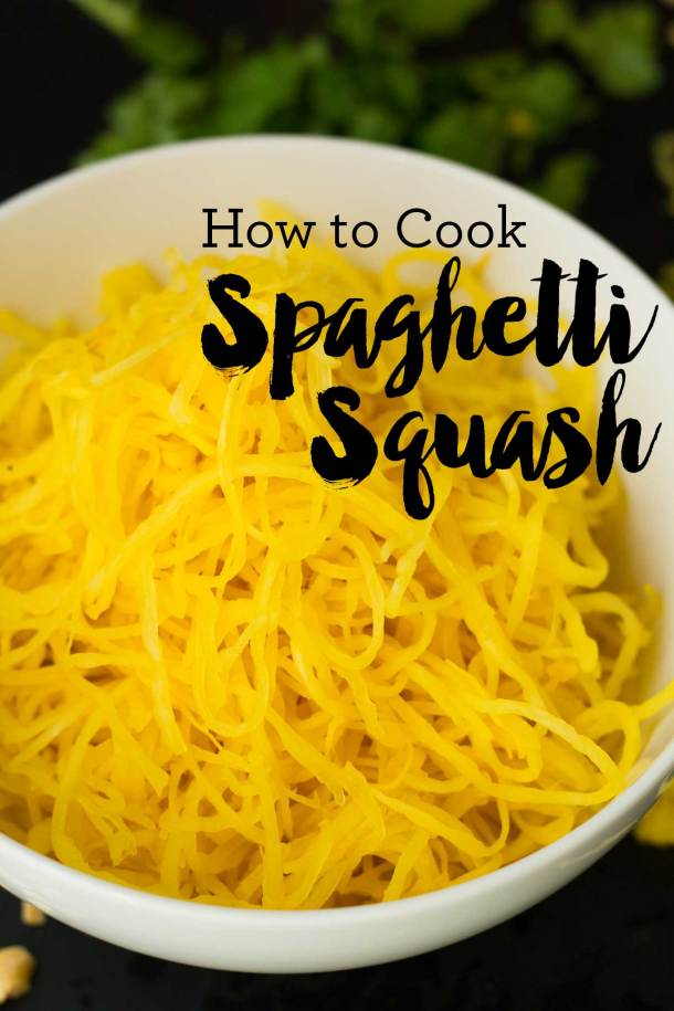 8bde61d94 How to cook spaghetti squash that actually looks like spaghetti! Foolproof  method for perfectly long