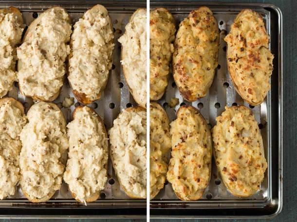 Protein-Packed Twice-Baked Potatoes | Vegan | Gluten-free | Oil-free | Plant-based | https://passtheplants.com/
