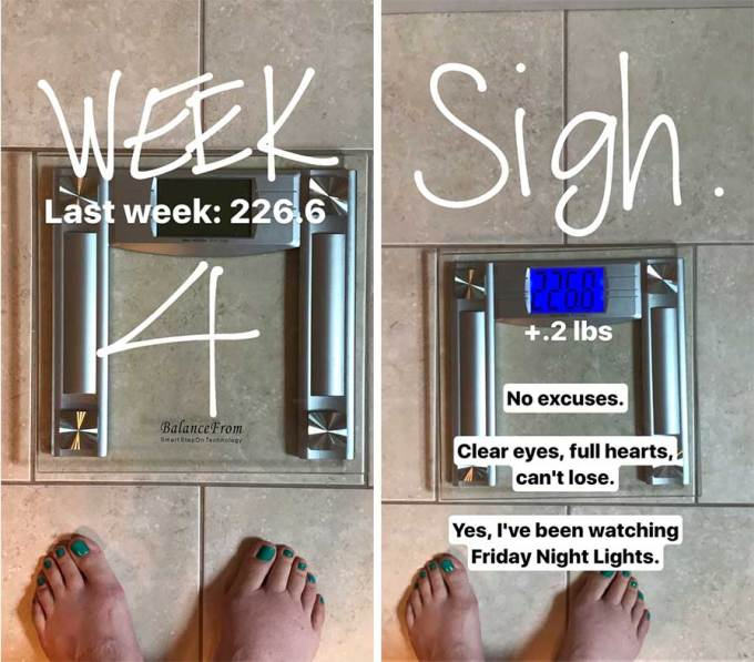 Finding My Means - Week 4 Update | Weight Loss | https://passtheplants.com/