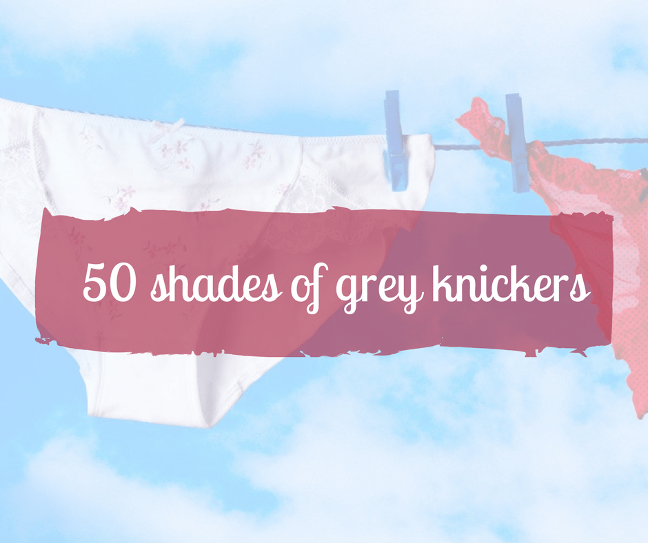 50 shades of grey... knickers?