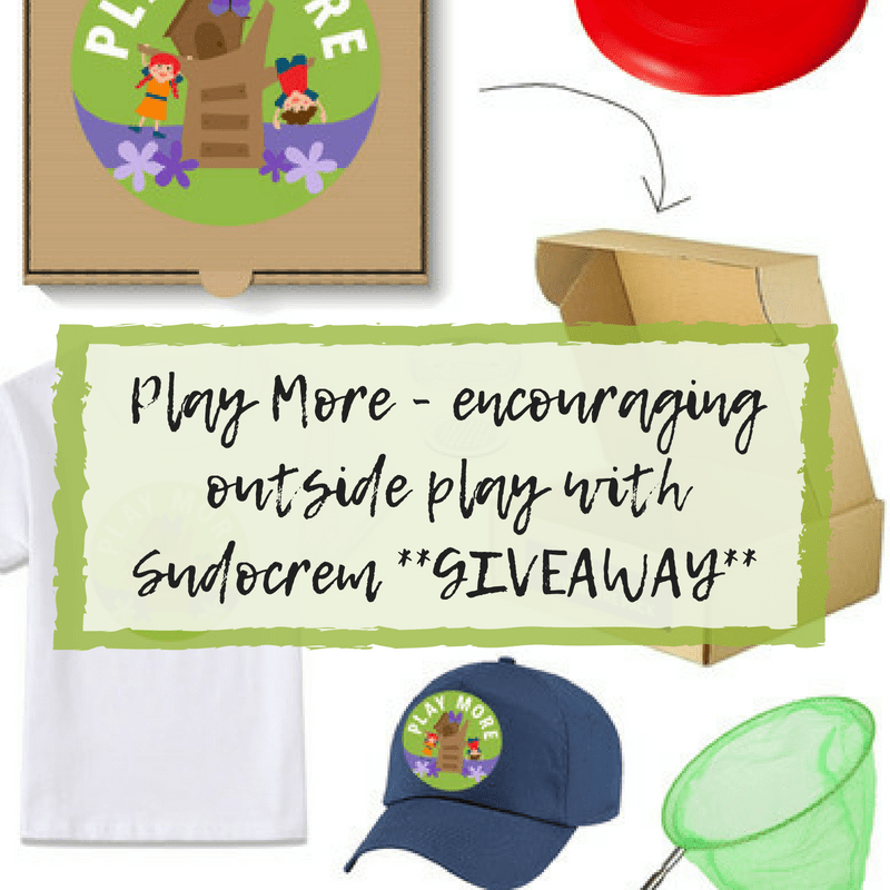 **GIVEAWAY** Play More – encouraging outside play with Sudocrem