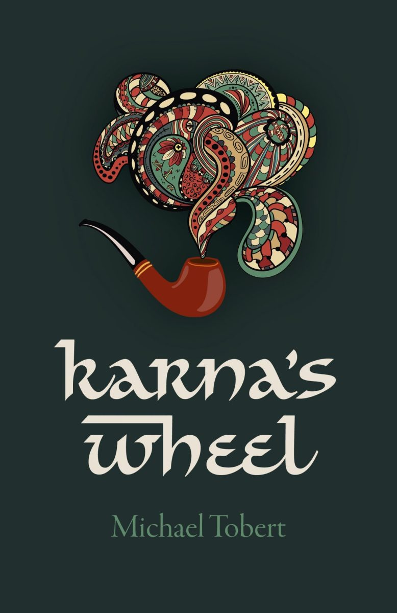 Between the covers: Karna's Wheel by Michael Tobert