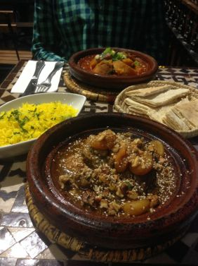 Flavorful Moroccan food in the heart of Dublin, Ireland.