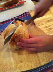 Bread, no blood.