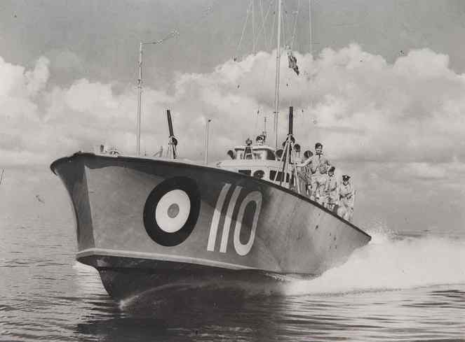 WWII Rescue Boat