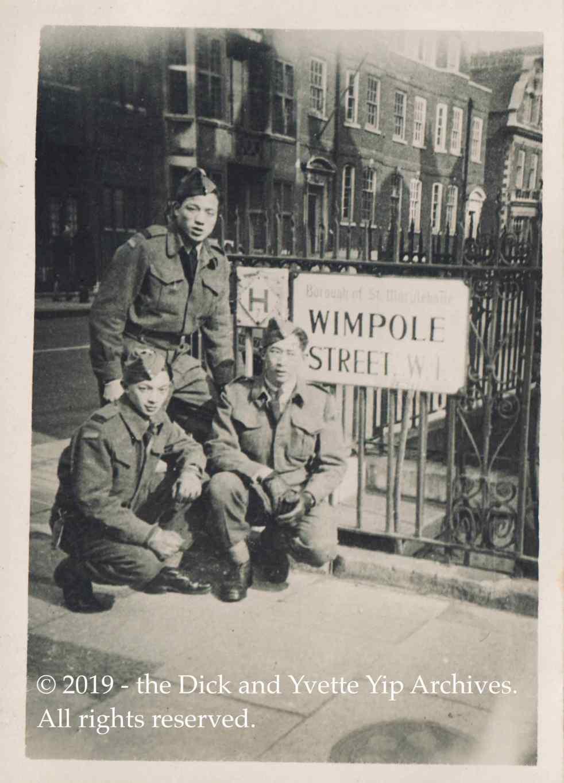 Dick in London Mar 1945 VE00754A