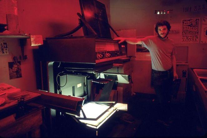 Photo of a darkroom camera