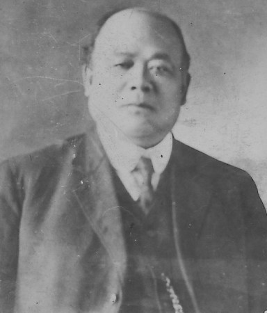 Photo of Yip Sang, about 1922.