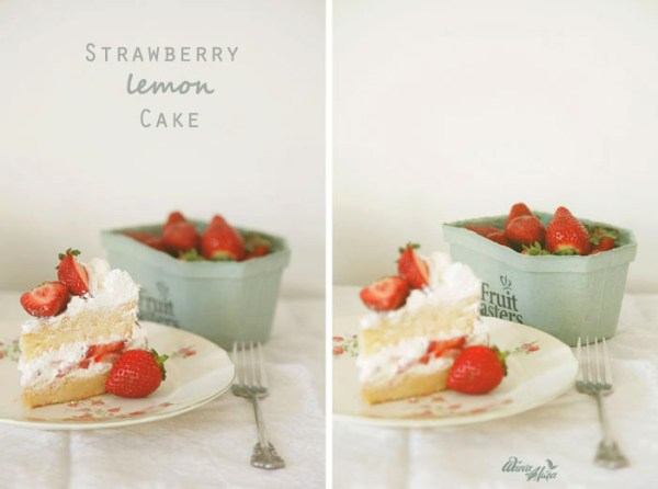 lemon strawberry