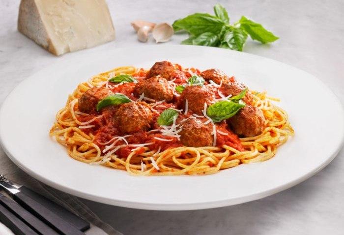 spaghetti-con-polpettine