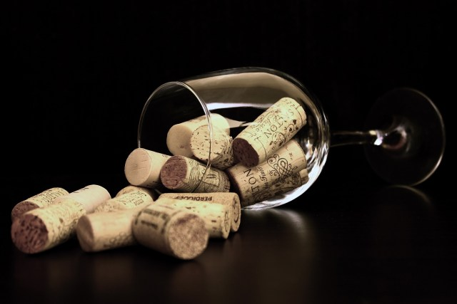 Wijn kurken