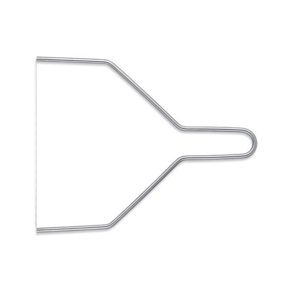 Triangle Draadsnijder voor kaas en fondant 24 cm breed