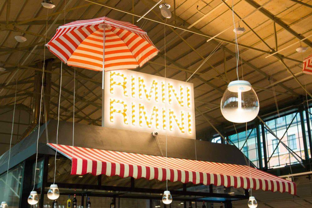 Pastamaniac: Popup Restaurant RiminiRimini im Müchner Eataly
