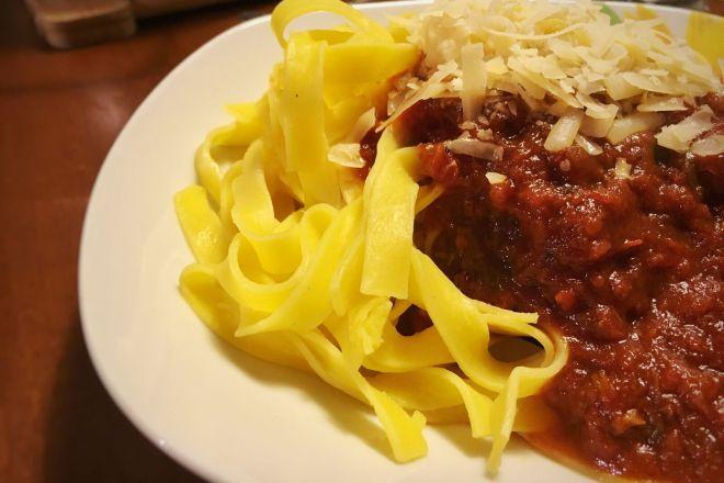Nudeln mit Tomatensauce, Gastbeitrag von happyplate.de