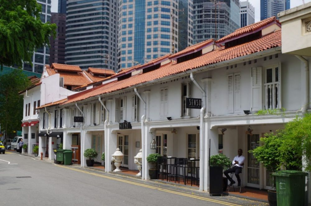 Architettura coloniale a Singapore