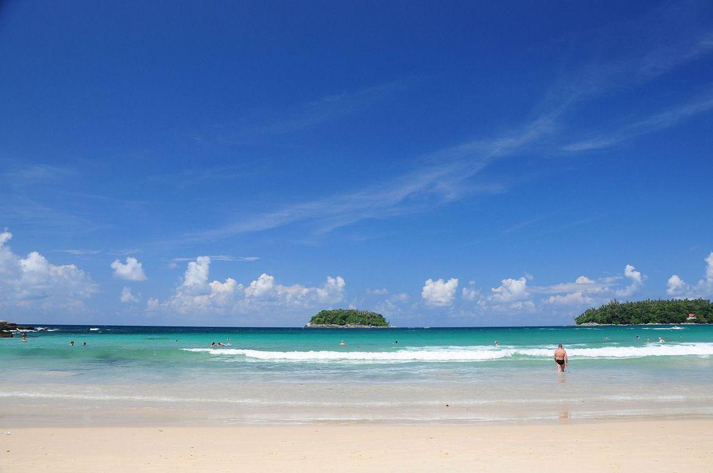 Kata Beach sull'isola di Phuket