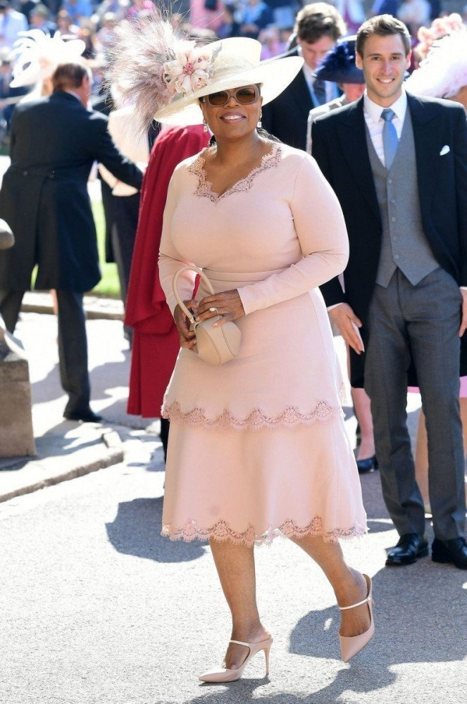 Oprah Winfrey al Royal wedding di Harry e Meghan