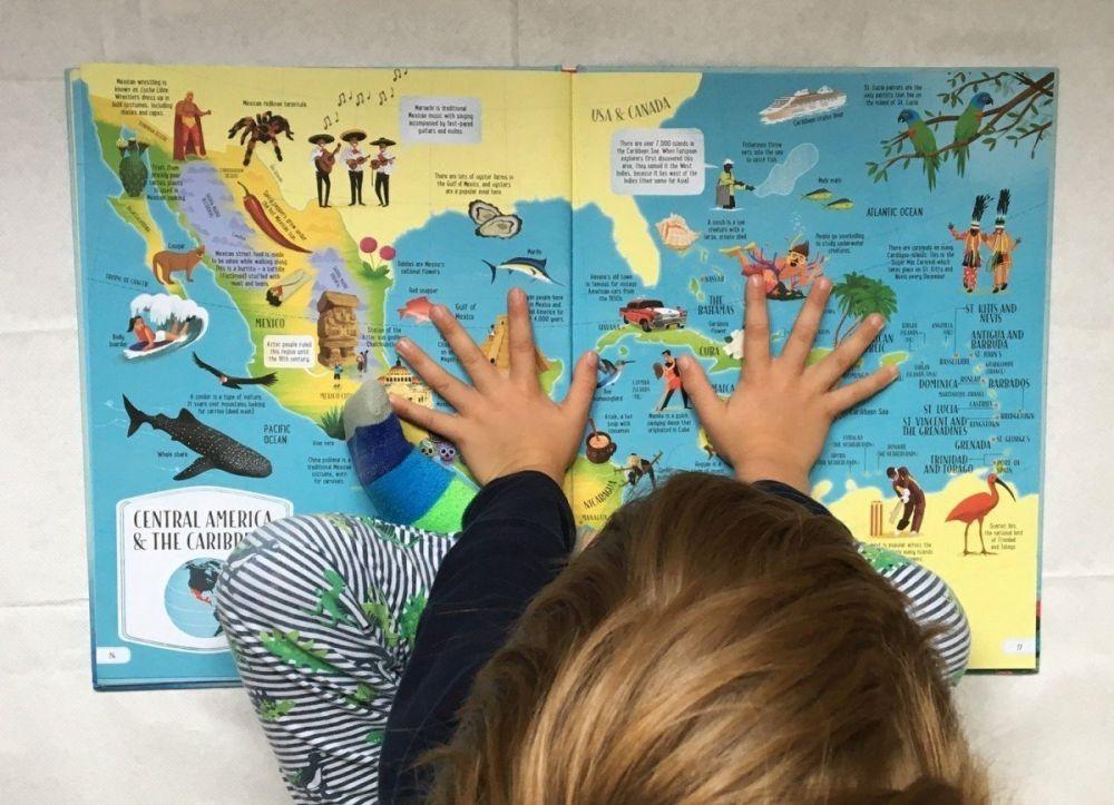 Big Picture Atlas atlante in inglese per bambini edito da Usborne