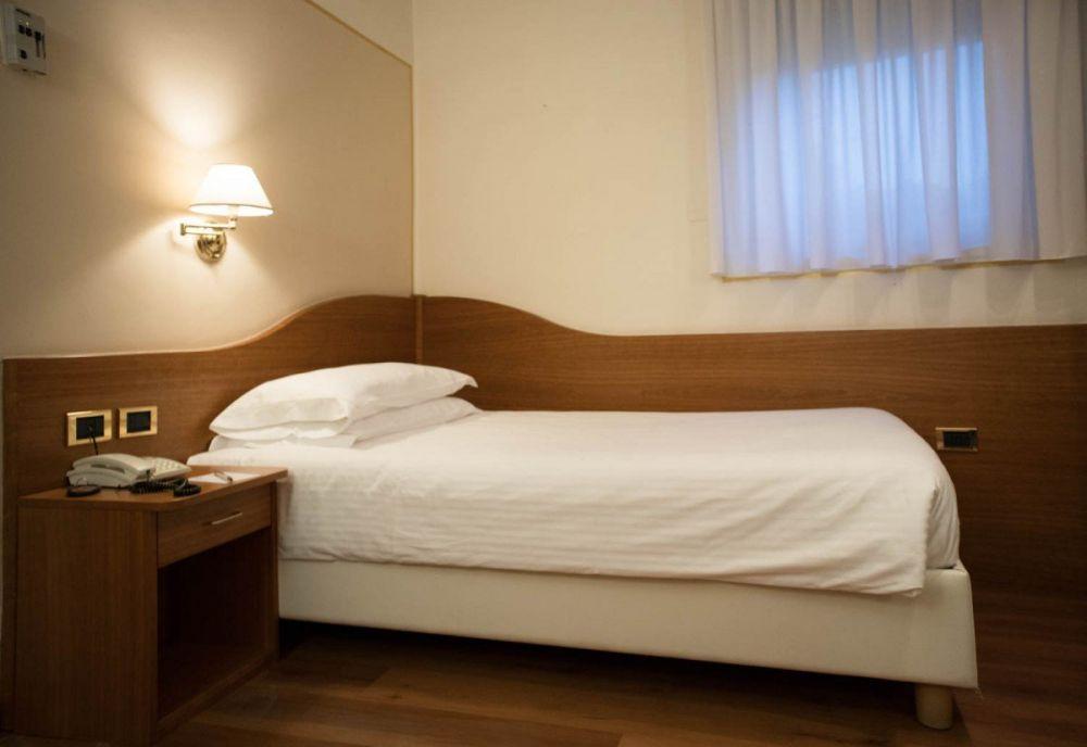 Camera singola all'Hotel America di Trento