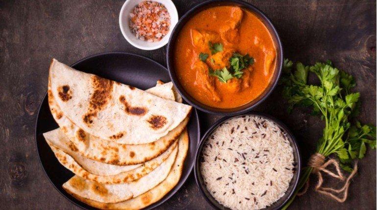 Cena indiana a base di curry