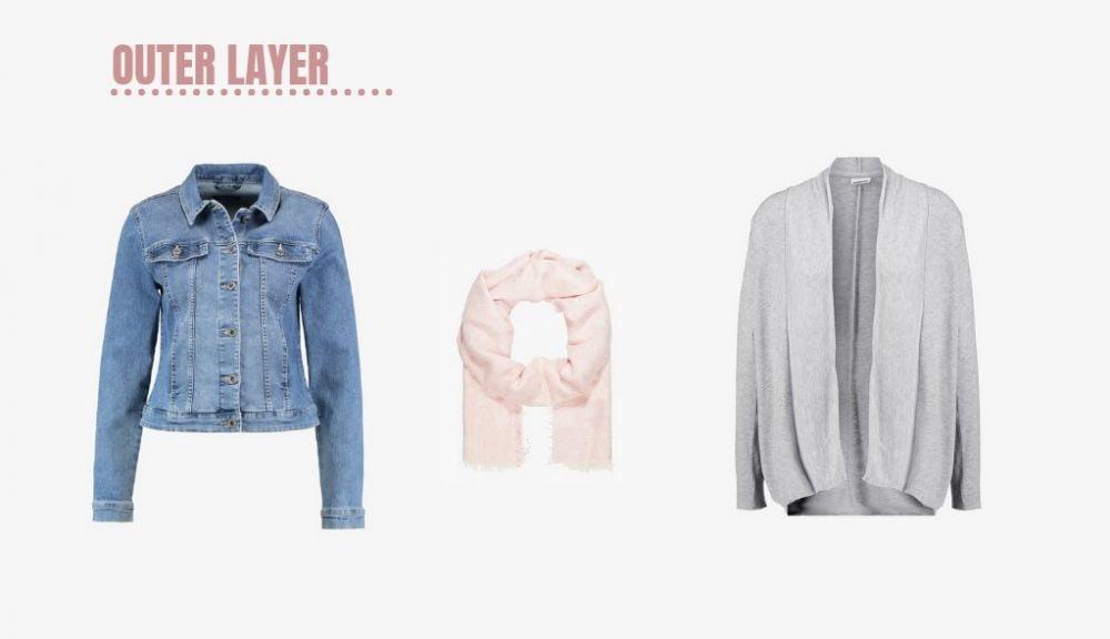Giacche e maglie per creare un capsule wardrobe da viaggio