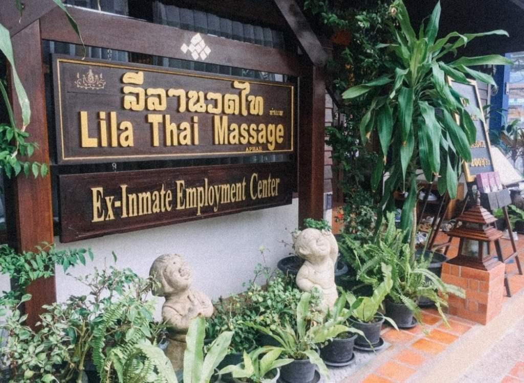 Lila Thai massage di Chiang Mai