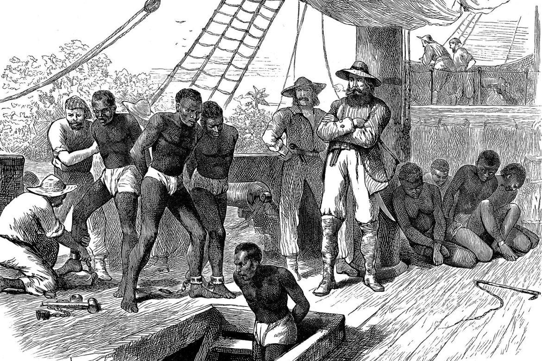 Equipaggio delle navi schiaviste che abusa i prigionieri