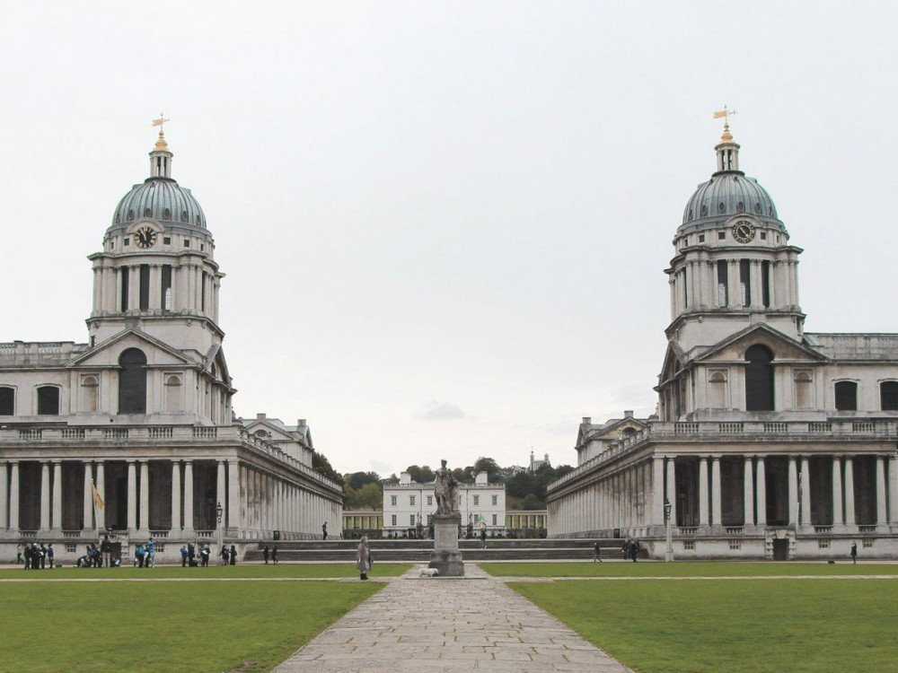 Old Royal Naval College a Greenwich, Londra