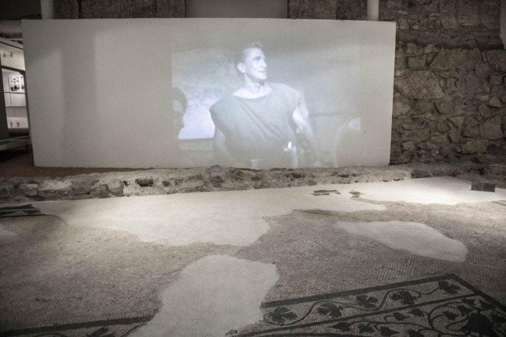 Video che dovrebbe illustrare la vita dell'Antica Roma allo Spazio Archeologico Sotterraneo del Sas di Trento