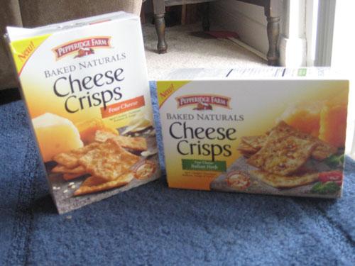 Three Cheese Sticks Snack Pepperidge Farm