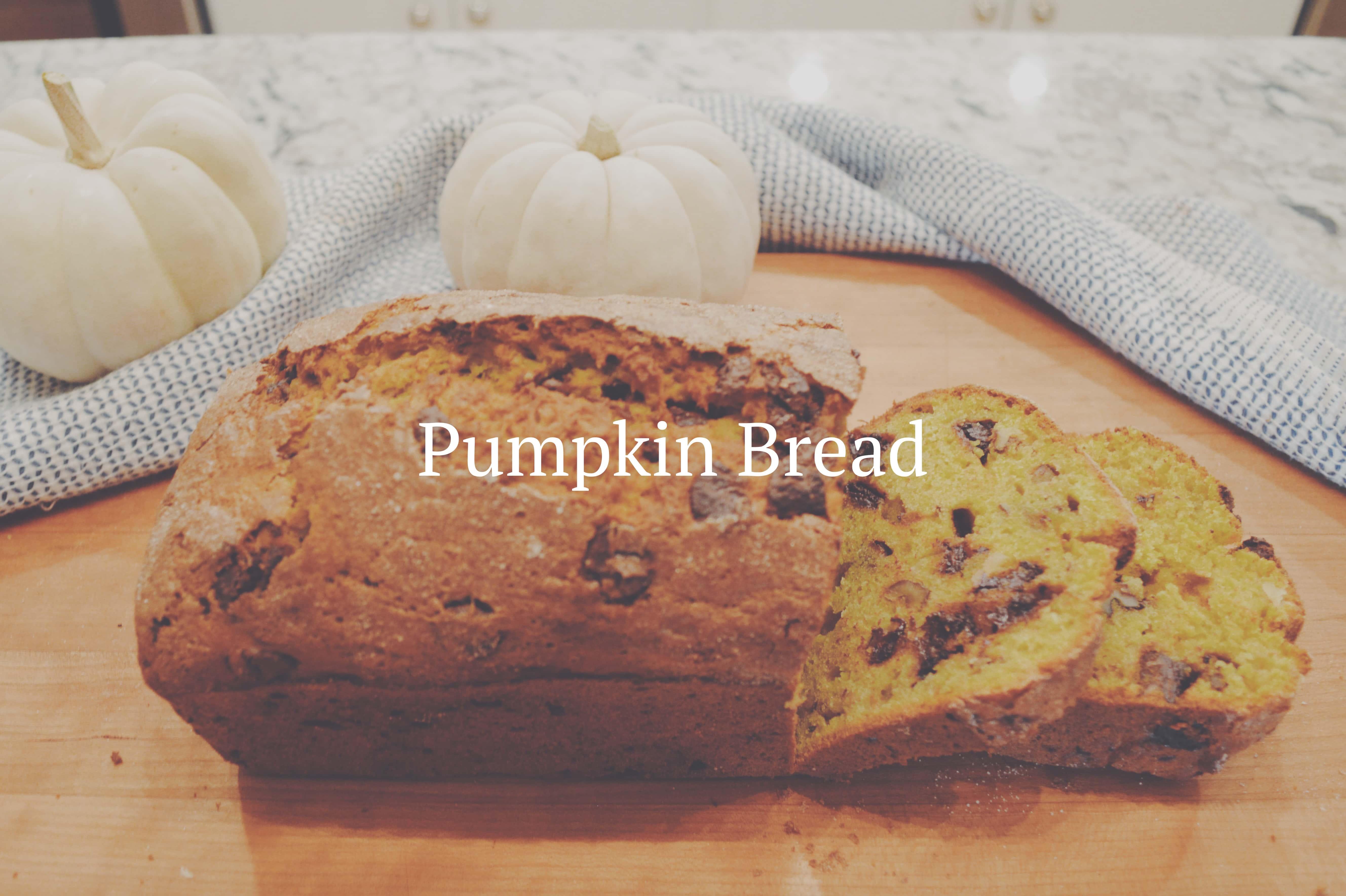 It's the Great Pumpkin Bread