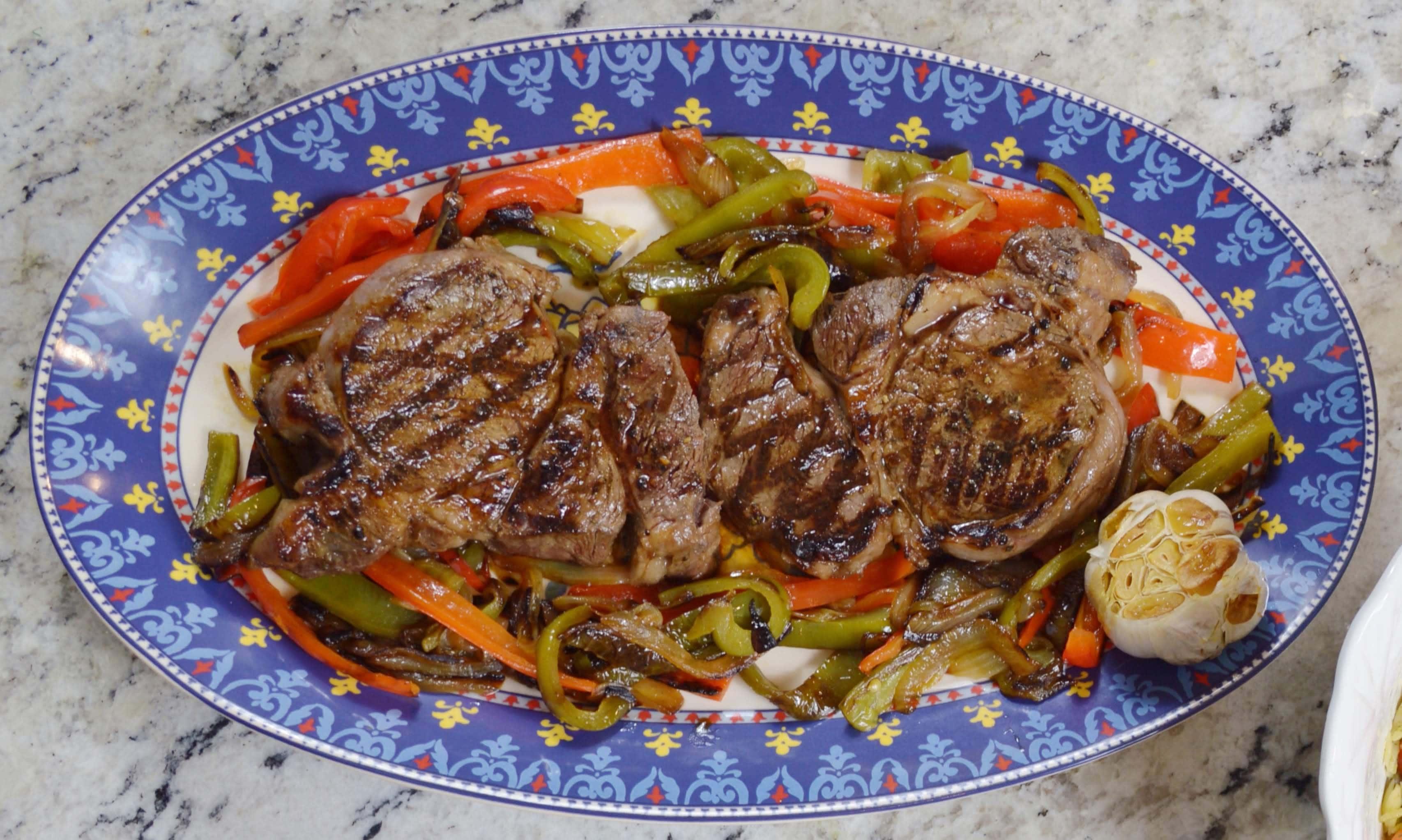 Shoyu Steak & Peppers
