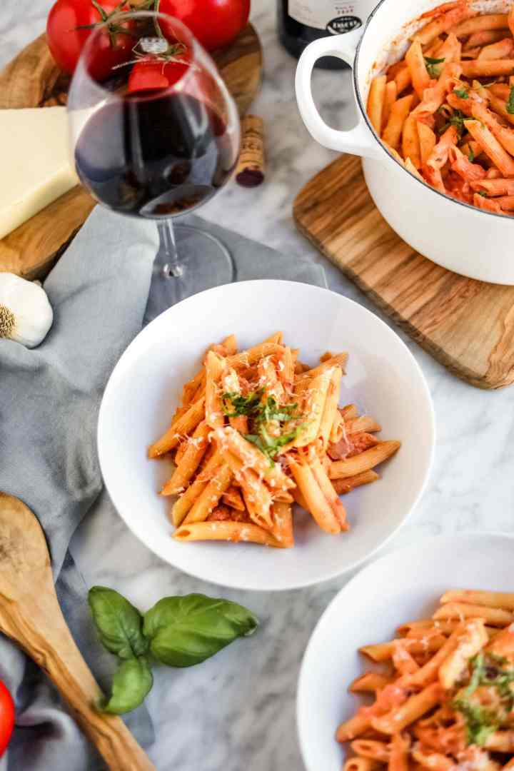 Healthy Penne alla Vodka