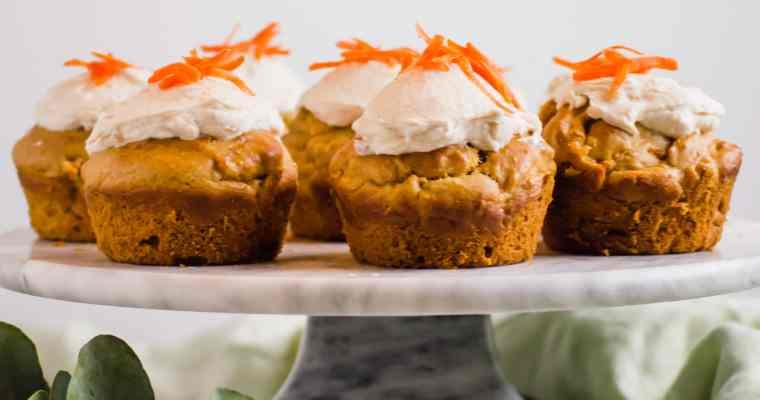Carrot Pupcakes