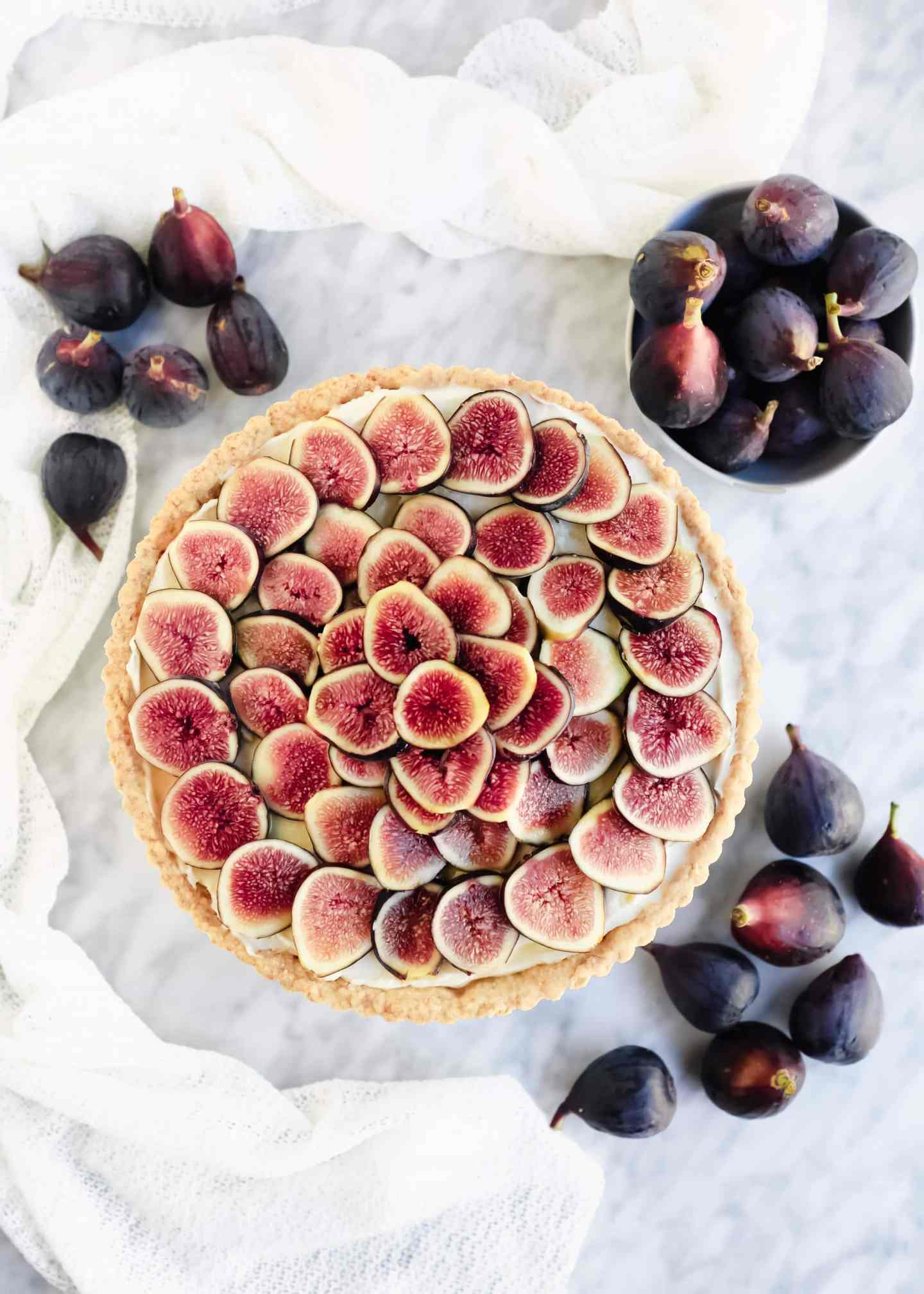 Fig Mascarpone Tart