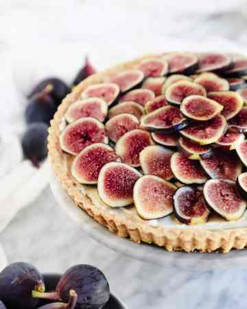 Fig and Honey Mascarpone Tart