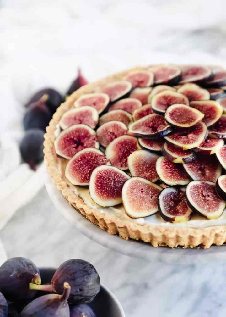 Fig and Honey Mascarpone Tart