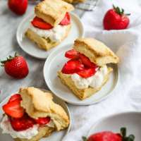 Easy Strawberry Shortcake with Homemade Cream