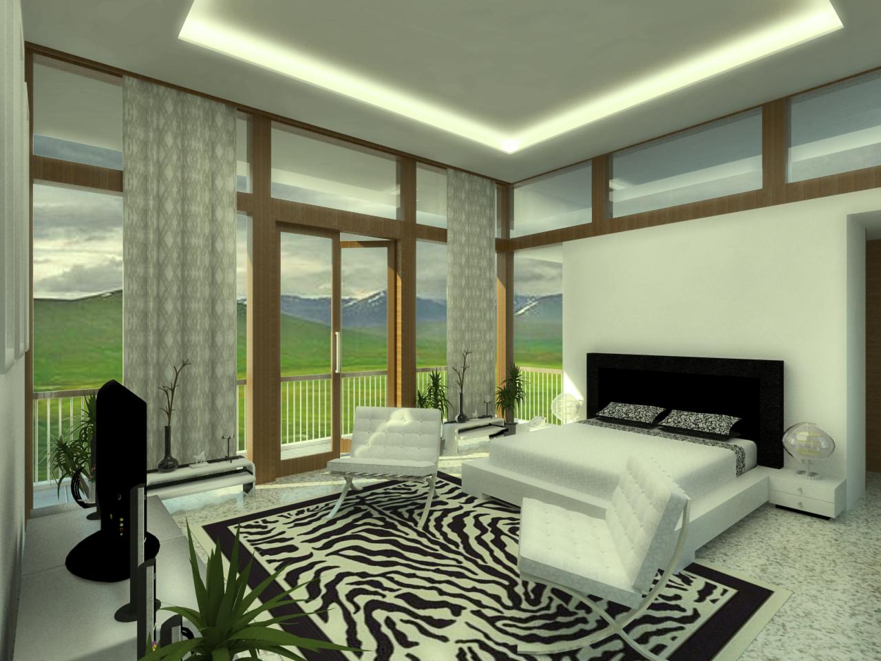 interior kamar utama  PASt Design