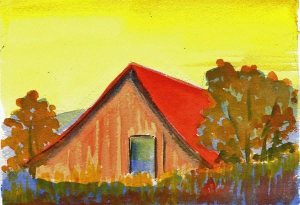 Split Complementary Color Scheme Paintings